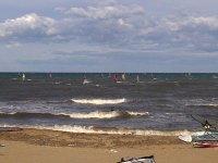 Windsurf con olas