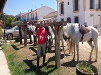 Amore equestre a El Rocío