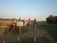 A cavallo attraverso il Parco Doñana