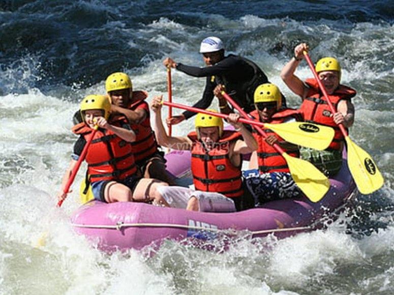 Una aventura de rafting épica