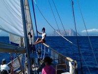 de aventura por el estrecho de gibraltar