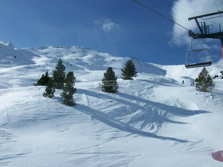 Ven a esquiar en Cerler