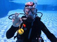 Cursando el discover scuba en Mallorca