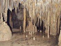 其中一个洞穴内部