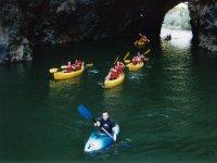 Recorridos en canoa
