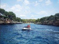 Moto de agua biplaza en Mallorca
