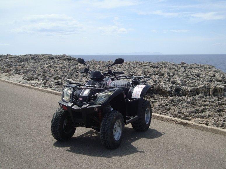 Quad driving experience in Ciudadella