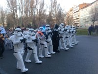 Desfile star wars Valladolid