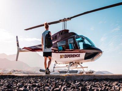Vuelo en helicóptero por Los Gigantes, 50 km