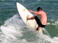 Un experto del surf