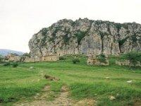 被遗弃的Peguera镇