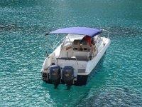 Boat in Balearic waters