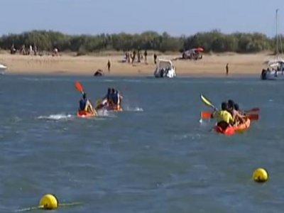 PuntaUmbría的皮划艇租赁服务1小时