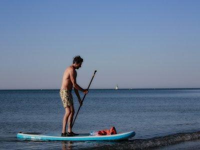 在PuntaUmbría划桨冲浪课程2天4小时