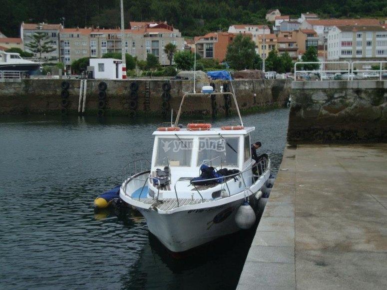 El barco para los bautizos