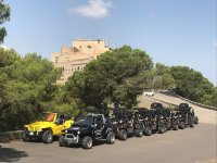 Our fleet of off-road vehicles