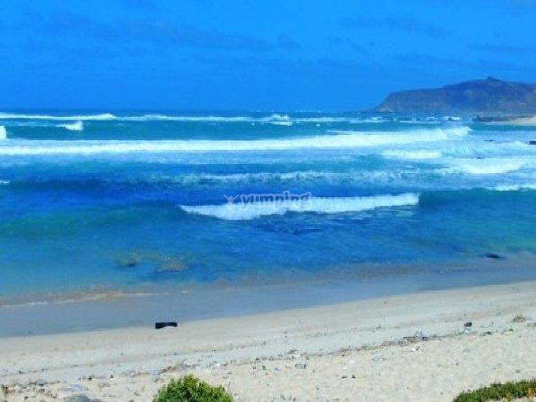 马略卡岛海岸。