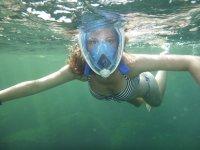 Snorkel con mascara completa