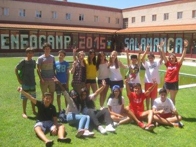 Campamento urbano de inglés 2 semanas en Salamanca