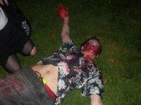 Victima de la noche de los muertos