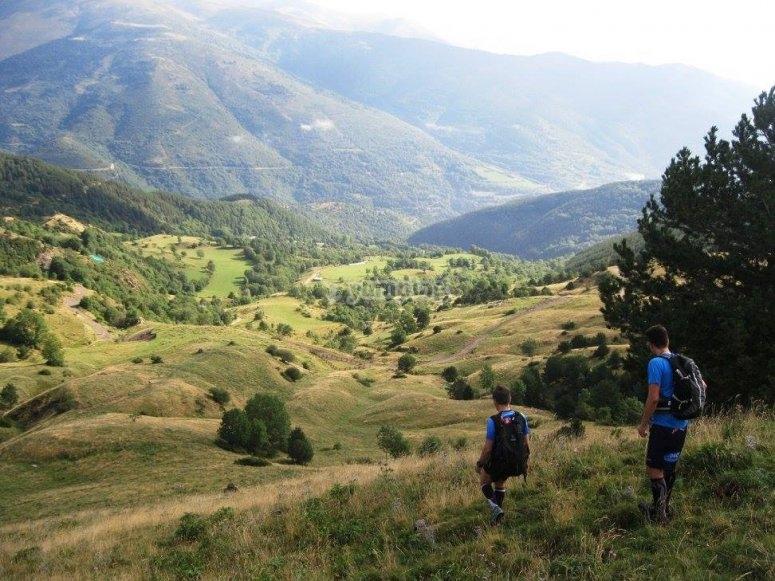 Trekking in Girona