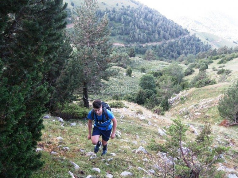 Hiking the route with the Contrabandists