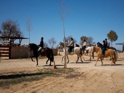 Complejo de Turismo Rural de Tiedra Rutas a Caballo