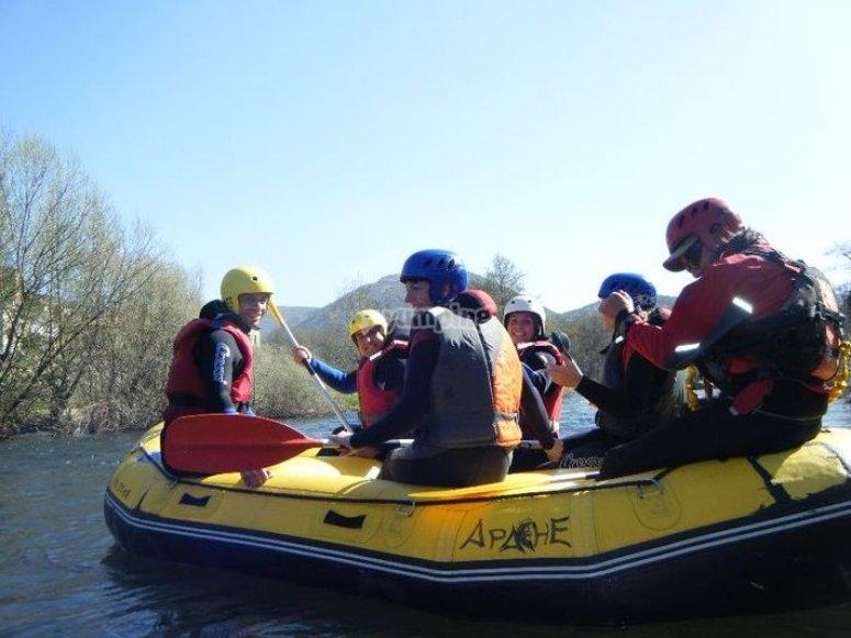 Disfruta del rafting en Salamanca
