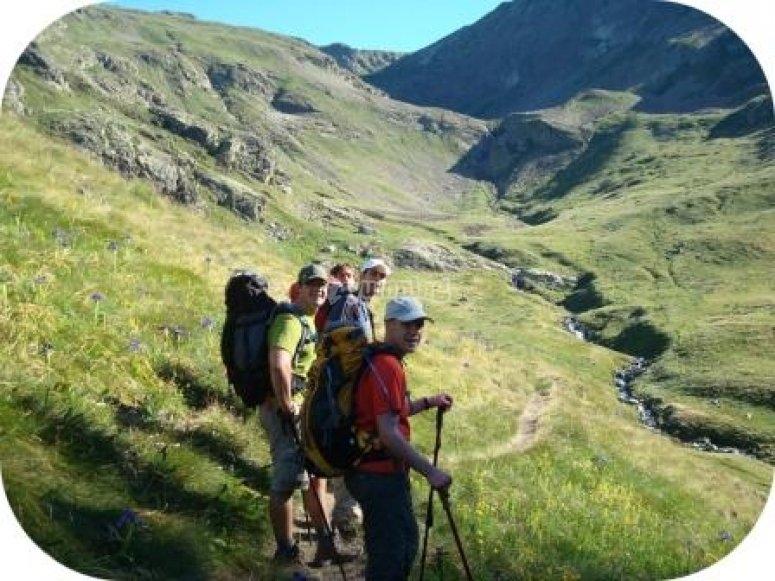 Start of the trek