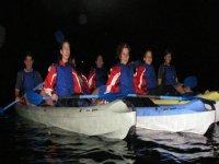 Ruta nocturna en kayak