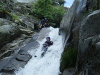 Canyoning in Papuos, Jerte, Level II