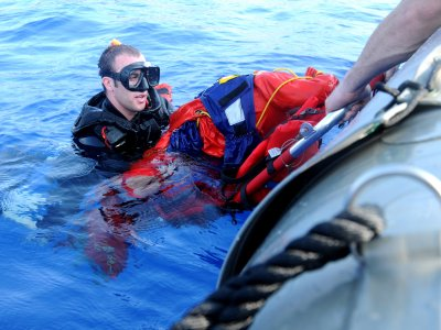 Rescue diving course, Radazul