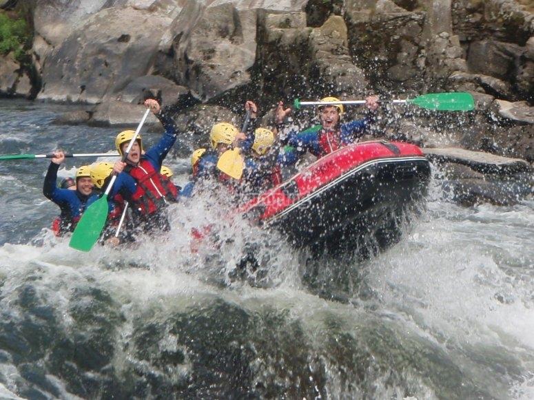 Rafting en el río Ulla