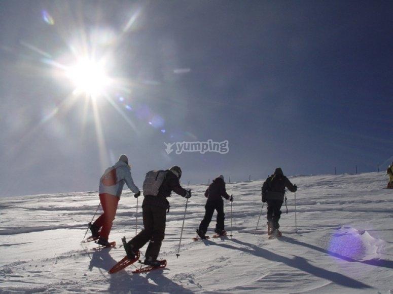 Excursion por la nieve