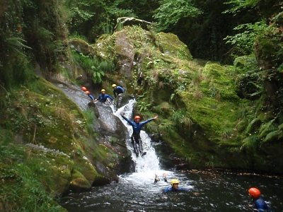 Canyoning session in Serra de Outes + Photos