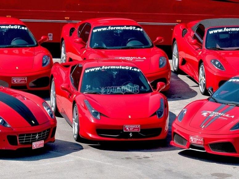 Nuestros Ferraris, en Brunete