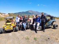 Parada durante la excursion en buggy en Mijas