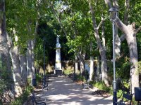 Parques de Cádiz con la bicicleta