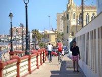 Paseo marítimo en bici