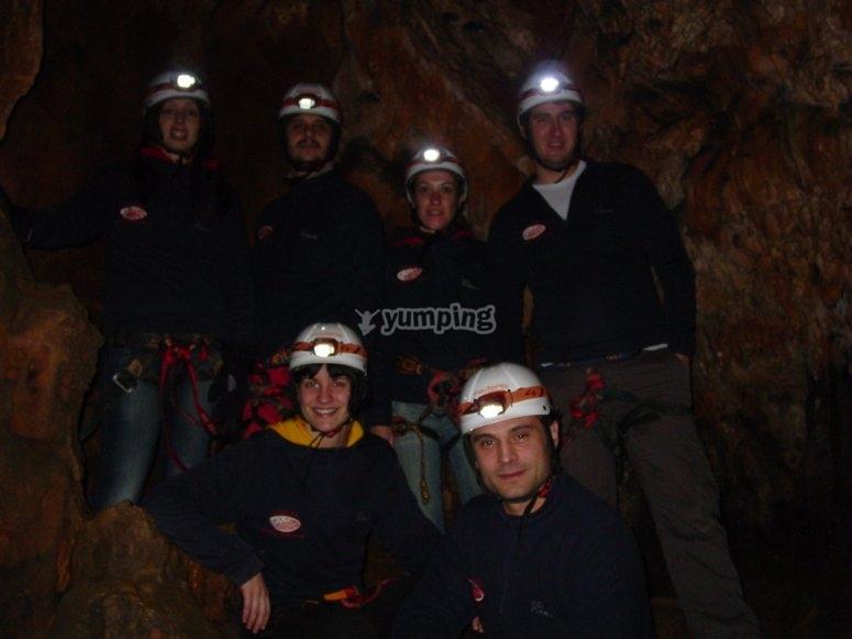 Expedición a la cueva