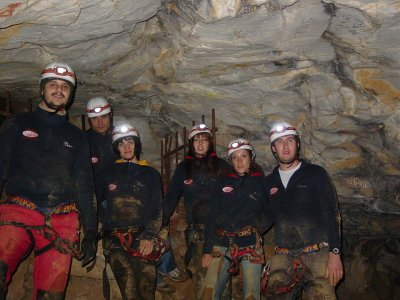 Introduction to caving in Barcelona