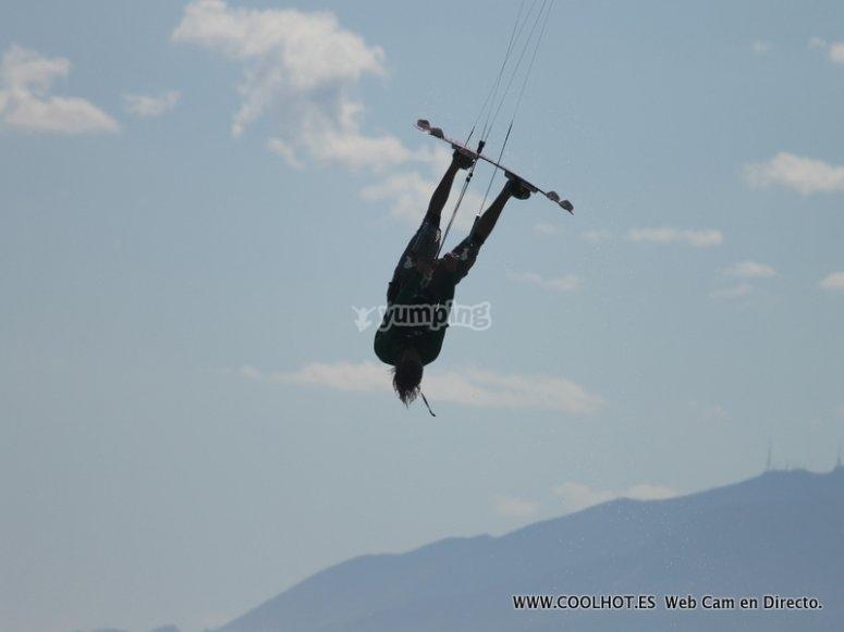 Se un Rider de kite