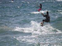 A tope con el kitesurf