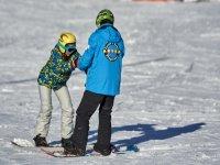 在孔德港滑雪的课程
