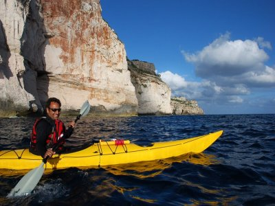 kayak based expedition around Menorca, Fornells