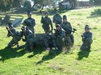 El equipo preparado para la batalla
