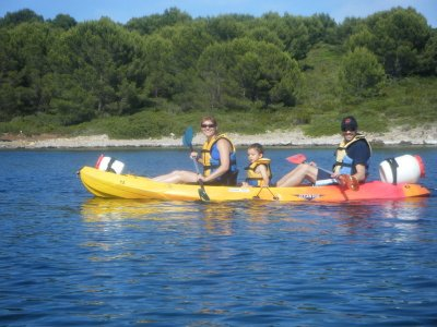 Rent a Kayak in Fornells or Addaia, 4h