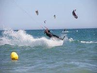 Iniciación al kitesurf en Torremolinos y fotos 3h