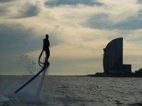15 min flyboarding in Barcelona
