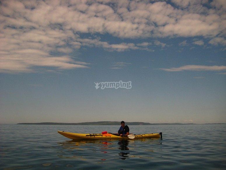 Kayak nel Maresme